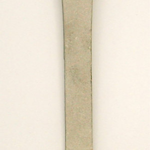 Hive Tool - Narrow Curved End Scraper, Stainless Steel