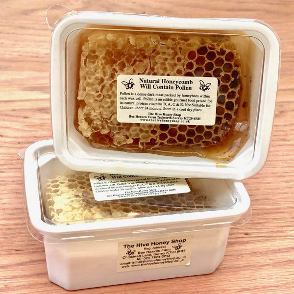 Honeycomb with Pollen