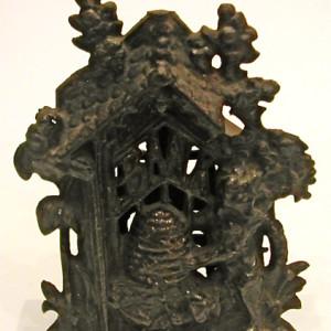 Cast Iron Bear & Hive Savings Bank-Circa - 1940s
