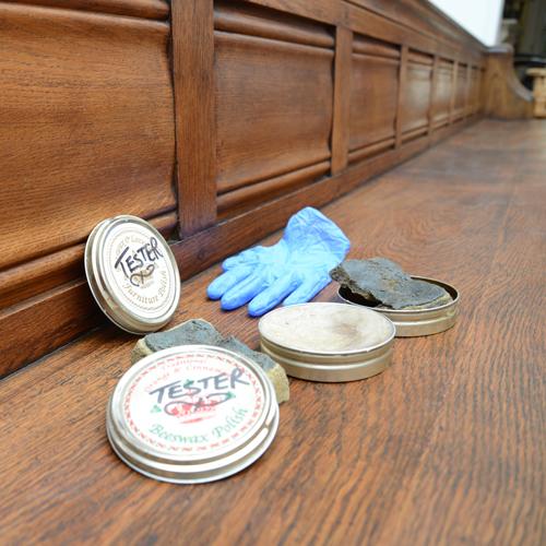 British beeswax lavender polish