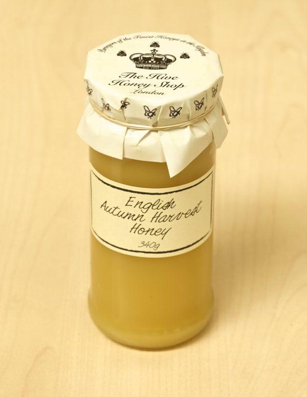 Raw English Autumn Honey from London