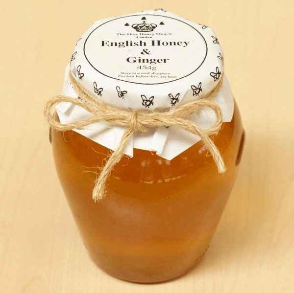 English Honey and Ginger made by British beekeepers