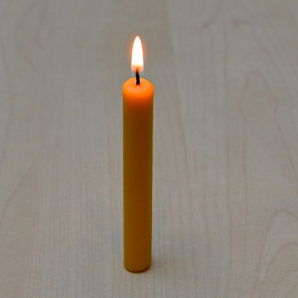 Pure Beeswax mini candle