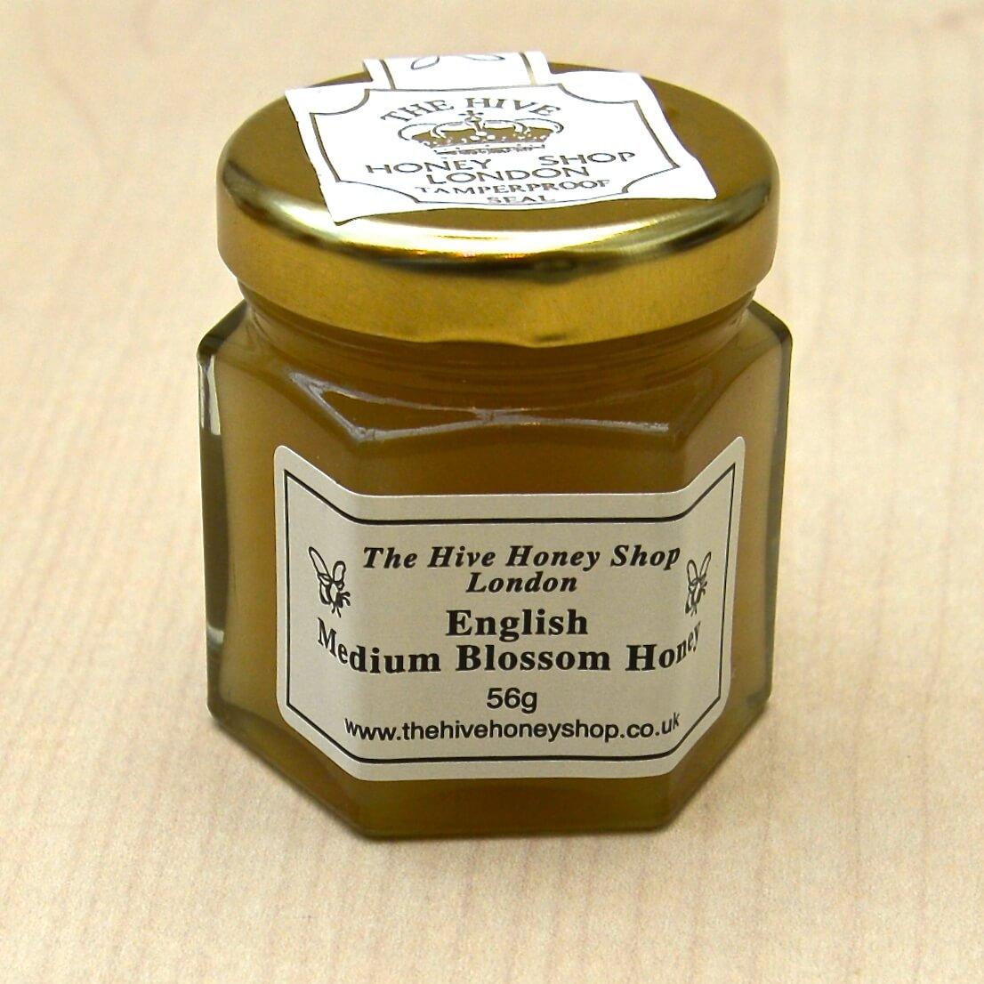 English Honey Mini Pots The Hive Honey Shop