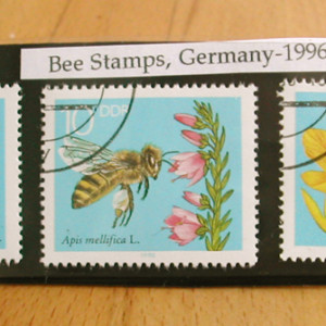 Bee Stamps - Germany x3 - 1996