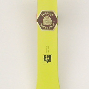 Hive Tool - Curved End Scraper - Yellow