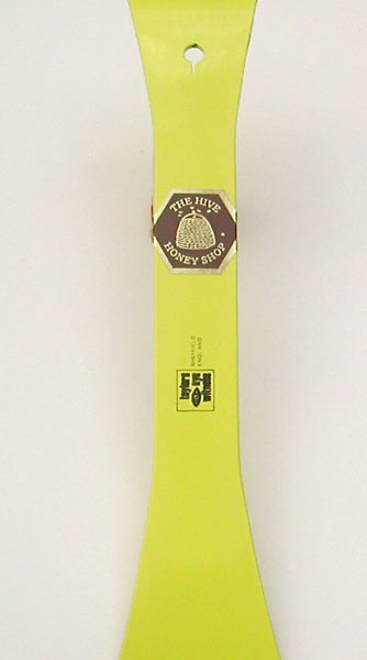 Hive Tool – Curved End Scraper – Yellow