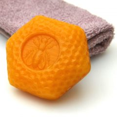 Honeycomb Embossed Bath Soap-1