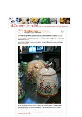 Don't miss the The Honey Shop- Diamond Jubilee Honeypot Exhibition