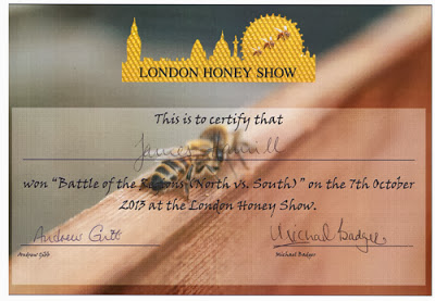 It's now Official- We have the BEST LONDON HONEY!