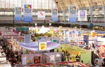 Meet us at the the Natural & Organic Food Show, Olympia, London April 3-4.