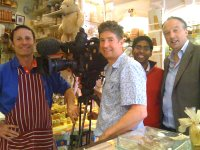 BBC Newsnight interview The Honey Shop