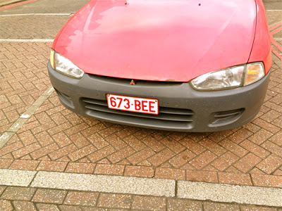 Great Car Reg Plate!
