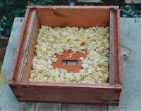 Wax Cappings feed back to bees