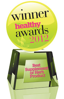 HayfeGUARD® Local Honey WINS Best Supplement or Herb Product 2012 Award