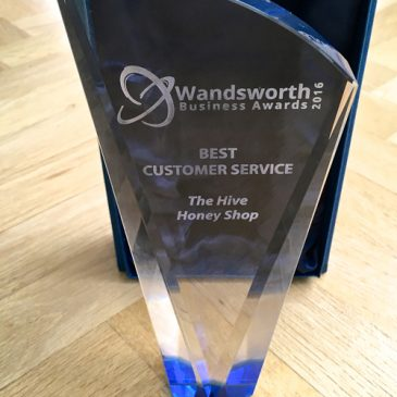 We won- BEST CUSTOMER SERVICE 2016 Award