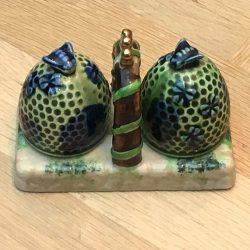 Occupied Japan Beehive Salt & Pepper Set