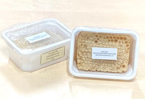English Wildflower Honeycomb (hard set)