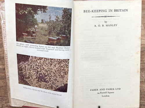 Beekeeping in Britain-1948, illustrations and photos