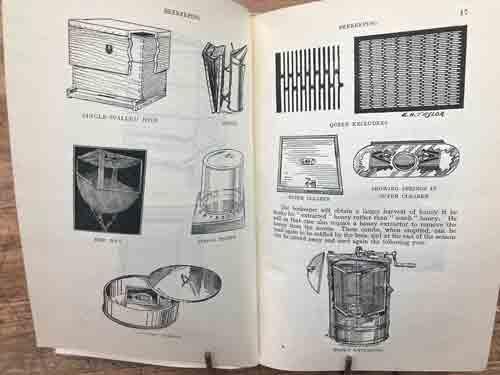 Beekeeping by Joseph Tinsley, Scotland 1945, many photos & illustrations