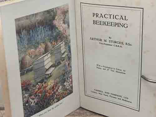 Practical Beekeeping 1924, 16 colour plates/23 illustrations