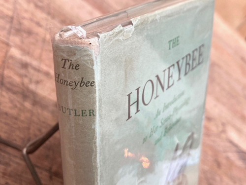 The Honeybee By C. G Butler- British 1949, 139 pages, hardback